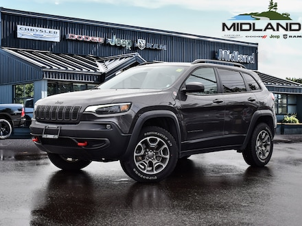 2020 Jeep Cherokee Trailhawk 4x4 SUV for sale in Midland, ON