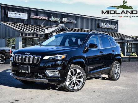 2020 Jeep Cherokee Overland 4x4 for sale in Midland, ON