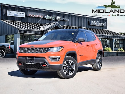 2017 Jeep Compass Trailhawk 4x4- GPS- Heated Seats- Remote Start SUV for sale in Midland, ON
