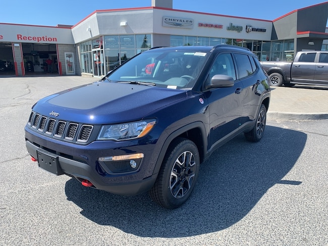 2019 Jeep Compass Trailhawk SUV 817574