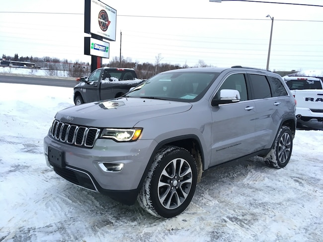 2018 Jeep Grand Cherokee 3.6L LIMITED LUXURY II 4WD SUV
