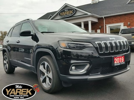 2019 Jeep Cherokee Limited 4x4, Leather Heated/Vented Seats, Tow Pkg, Crossover