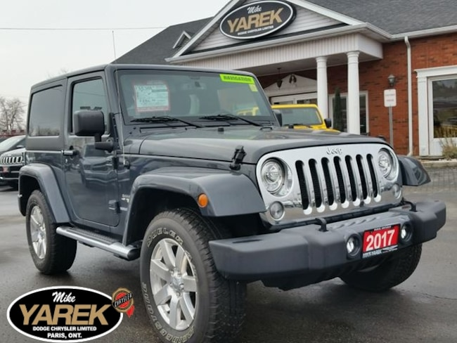 2017 Jeep Wrangler Sahara 4x4 Hardtop, Leather Heated Seats, NAV, Rem Crossover