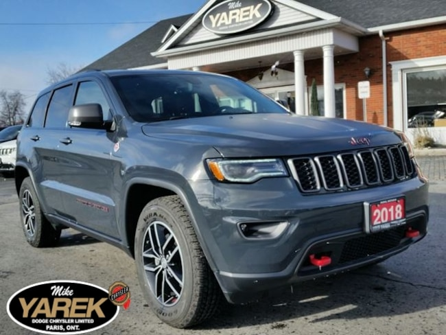 2018 Jeep Grand Cherokee Trailhawk 4x4 V6, Air Suspension, Pano Roof, NAV, Crossover