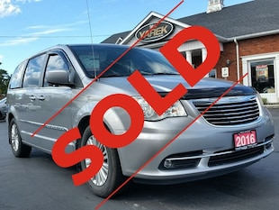2016 Chrysler Town & Country **Sold**Touring, Leather Heated Seats, Power Doors Minivan