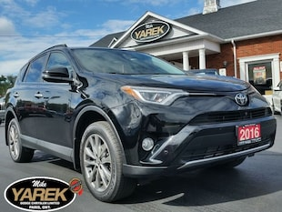 2016 Toyota RAV4 Limited AWD, Leather Heated Seats, NAV, Sunroof, L Crossover