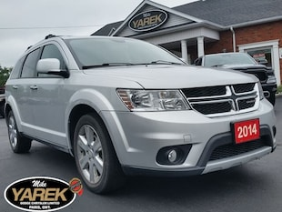 2014 Dodge Journey R/T V6 AWD, Leather Heated Seats, NAV, Tow Pkg, Re Crossover