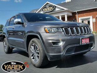 2018 Jeep Grand Cherokee Limited 4x4, Leather Heated Seats, Sunroof, Apple Crossover
