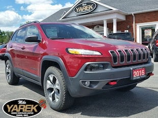 2016 Jeep Cherokee Trailhawk Elite 4x4, Leather Heated/Vented Seats, Crossover