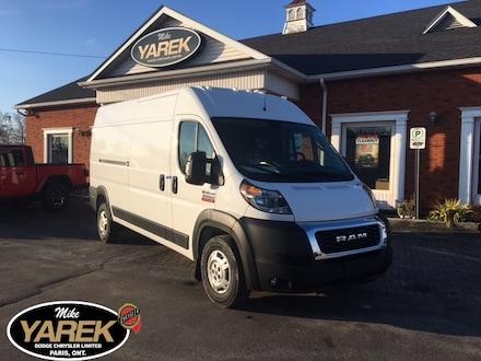 2020 Ram ProMaster 3500 ASK US ABOUT YOUR HST # PRICING. Van Cargo Van