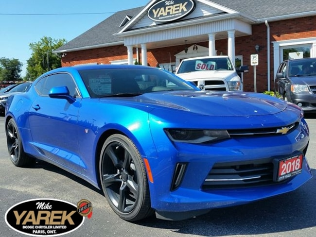 2018 Chevrolet Camaro 1LT RS RWD, Bluetooth, Sunroof, Remote Start, RS P Coupe