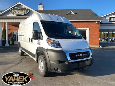 2020 Ram ProMaster 3500 ASK US ABOUT YOUR HST # PRICING. Cargo VAN