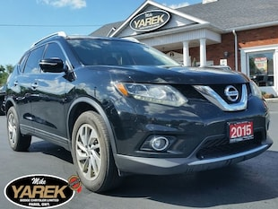 2015 Nissan Rogue SL AWD, Leather Heated Seats, Pano Roof, NAV, 360 Crossover