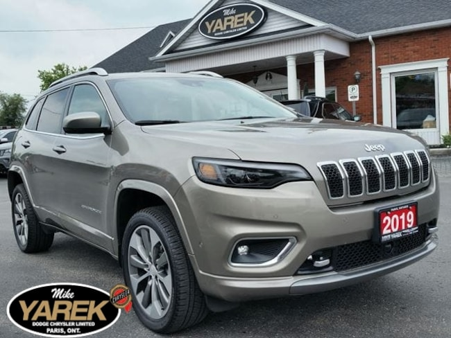 2019 Jeep Cherokee Overland 4x4, 2.0L Turbo, Leather Heated/Vented Se Crossover