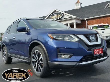 2017 Nissan Rogue SL Platinum AWD, Leather Heated Seats, NAV, Pano R Crossover