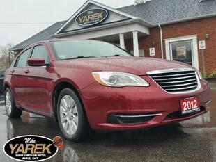 2012 Chrysler 200 LX, Sat Radio, Pwr Doors/Locks/Windows, Very Clean Sedan