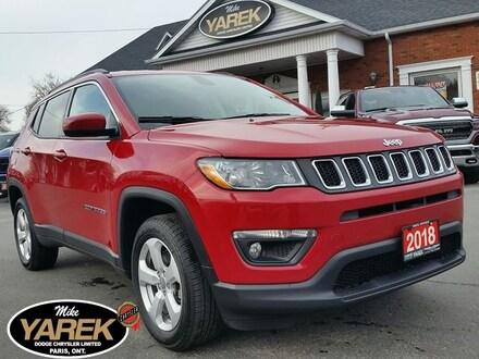 2018 Jeep Compass North 4x4, Heated Seats/Wheel, NAV, Bluetooth, Rem Crossover