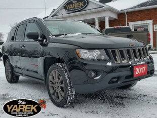 2017 Jeep Compass 75th Anniversary 4x4, Heated Seats, Remote Start, Crossover