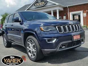 2018 Jeep Grand Cherokee Sterling Edition, Leather Heated Seats, Pano Roof, Crossover