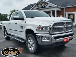 2015 Ram 2500 Limited, Leather Heated/Vented Seats, 5th Wheel, R Crew Cab
