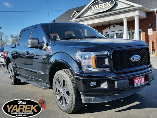 2018 Ford F-150 XLT FX4 Sport 4X4, Pano Roof, Remote Start, Heated Crew Cab