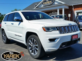 2017 Jeep Grand Cherokee Overland 4x4, Pano Roof, Leather Heated/Vented Sea Crossover