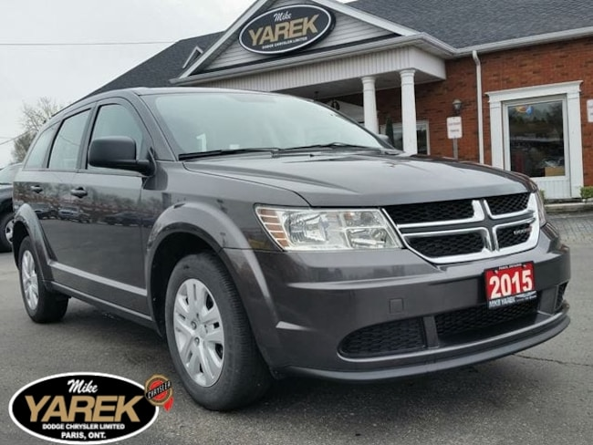 2015 Dodge Journey Canada Value Pkg, Power Doors/Locks, Push Button S Crossover