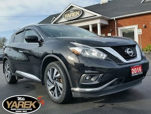 2016 Nissan Murano Platinum AWD, Leather Heated/Cooled Seats, Pano Ro Crossover