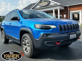 2020 Jeep Cherokee Trailhawk 4x4, Leather Seats, Apple Carplay, Andro Crossover