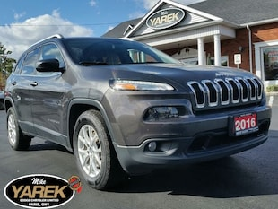 2016 Jeep Cherokee North 4x4, Heated Seats, Remote Start, NAV, Back U Crossover