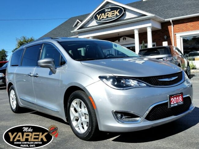 2018 Chrysler Pacifica Touring-L Plus, DVD, Pano Roof, Pwr Doors, Leather Minivan
