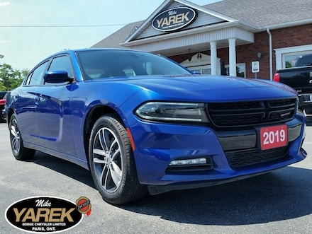 2019 Dodge Charger SXT AWD V6, Leather Heated/Vented Seats, NAV, Sunr Sedan