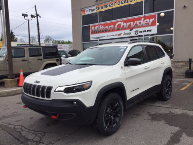 new 2019 jeep cherokee trailhawk 4x4 v6for sale milton on