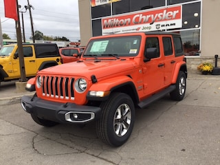 2018 Jeep All-New Wrangler UNLIMITED SAHARA 4X4 / DUAL TOPS / TURBO SUV