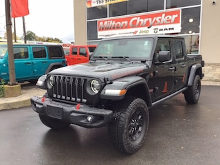 2020 Jeep Gladiator RUBICON 4X4 / LEATHER / BODY COLOUR TOP / STEEL FR Truck Crew Cab