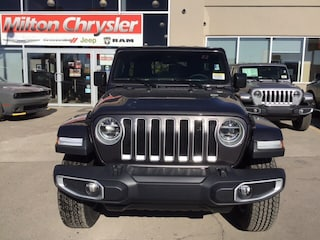 2019 Jeep Wrangler Unlimited SAHARA UNLIMITED 4X4 / LED / COLD WEATHER / NAV /  SUV