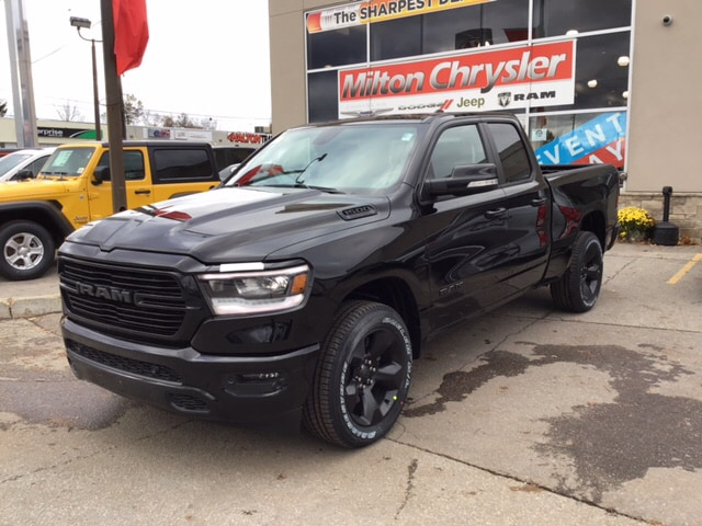 2019 Ram 1500 SPORT 4X4 / HEATED STEERING WHEEL / HEATED SEATS / Truck Quad Cab