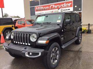 2018 Jeep All-New Wrangler UNLIMITED SHARA 4X4 SKY POWER TOP / NAV / COLD WEA SUV