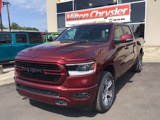 2020 Ram 1500 SPORT CREW 4X4/PANO ROOF/LEATHER/PERF HOOD/12 INCH Truck Crew Cab