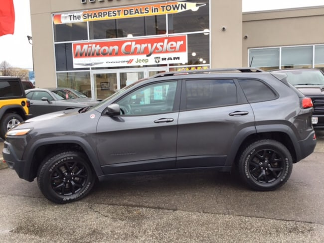 2016 Jeep Cherokee TRAILHAWK 4X4 / VENTED LEATHER SEATS / NAV SUV