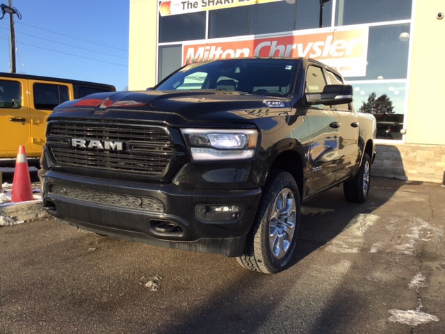 2019 Ram 1500 BIG HORN CREW 4X4 / OFF ROAD GRP / LEVEL 2 / HEMI Camion cabine Crew