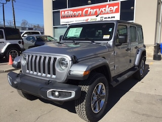 2019 Jeep Wrangler Unlimited UNLIMITED JL SAHARA / COLD WEATHER GROUP/LED LIGHT SUV