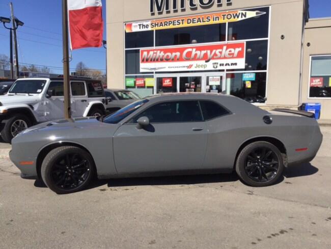 2018 Dodge Challenger SXT+ BLACKTOP|LEATHER|SUNROOF|APPLE CARPLAY Coupe