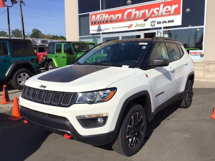 2020 Jeep Compass TRAILHAWK 4X4 / TOW PKG / PANO ROOF / LEATHER / SA SUV