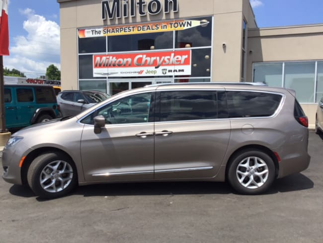 2018 Chrysler Pacifica TOURING L+|LEATHER|DVD|SUNROOF Minivan