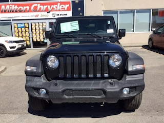 2018 Jeep Wrangler UNLIMITED S SPORT 4X4 DUAL TOP GROUP SUV
