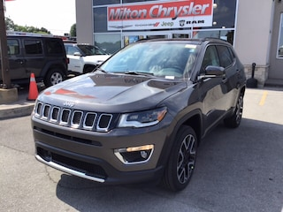 2018 Jeep Compass LIMITED 4X4 / LEATHER / ADVANCED SAFETY GRP / NAV SUV