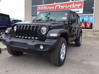 2019 Jeep Wrangler Unlimited SPORT S 4X4 / COLD WEATHER GRP. SUV
