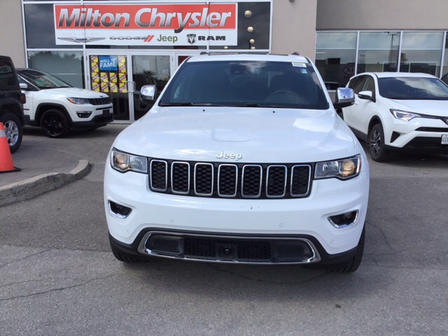 2018 Jeep Grand Cherokee LIMITED 4X4 / LEATHER/ROOF/NAV/BACK UP CAM/ SUV