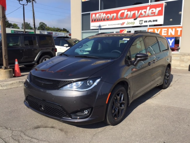 2019 Chrysler Pacifica LIMITED S PKG/ TRAILER TOW / DVD / SAFETY TEC Van